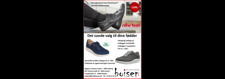 Det sunde valg til dine fødder