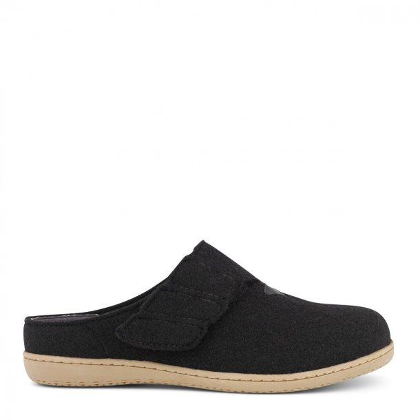 New Feet - Hjemmesko uden hælkap - Sort
