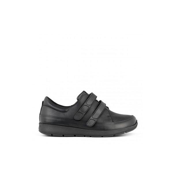 New Feet - Sporty sko m/velcro, sort