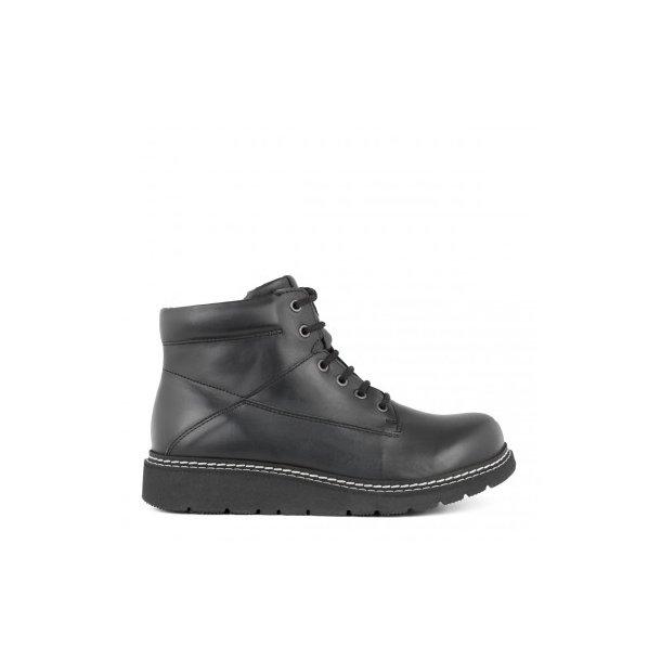 New Feet - Let snørestøvle - Sort