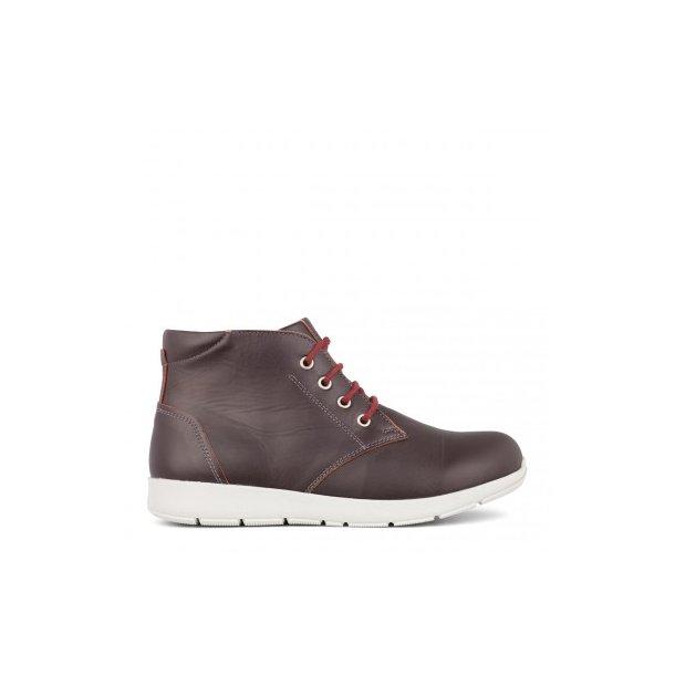 New feet - Snørestøvlet - Vinrød