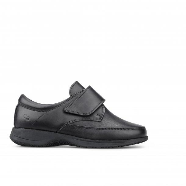 Dame sko med velcro 9138