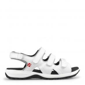 867182aa Sandal m/3 velcro remme Sort 11176 - Dame sandaler - Boisen
