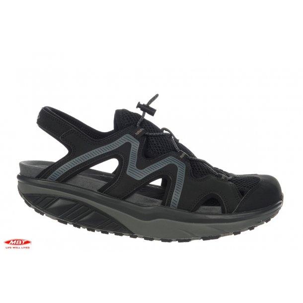 bedb648fc35d JEFAR Sort Herre Sandal - Herre sandaler - Boisen