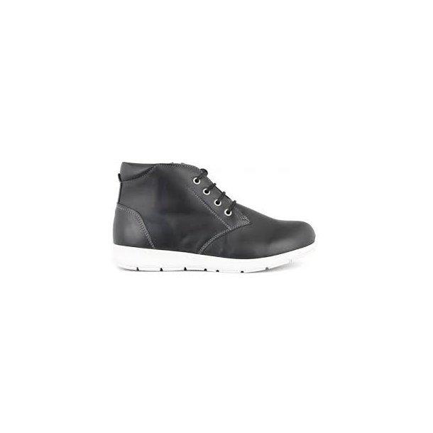 New Feet - Snørestøvlet - Sort