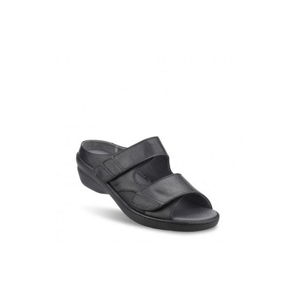 dc70bd54557 Sandal med lille hæl - Sort - 101-90-110 - Sandaler - Boisen