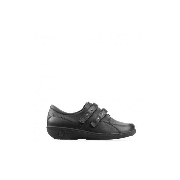 New Feet - Stretchsko med velcro - Sort
