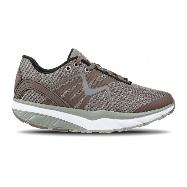 LEASHA Chocolate/Sølv sko